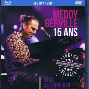 Blu-Ray DVD Live 15 ans